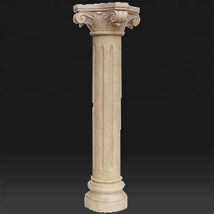 Granite garden roman pillar designs for home decoration