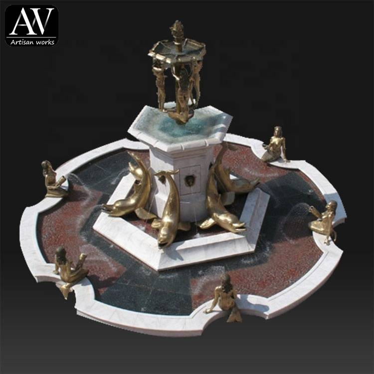 New product decorative artificial waterfall fountain for sale