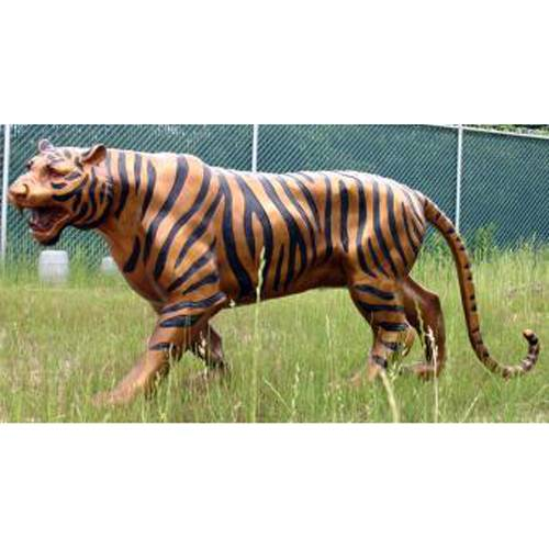 High quality  hot selling life size cast bronze big tiger statue