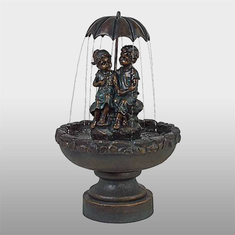 Large outdoor garden decoration bronze fountain sculpture