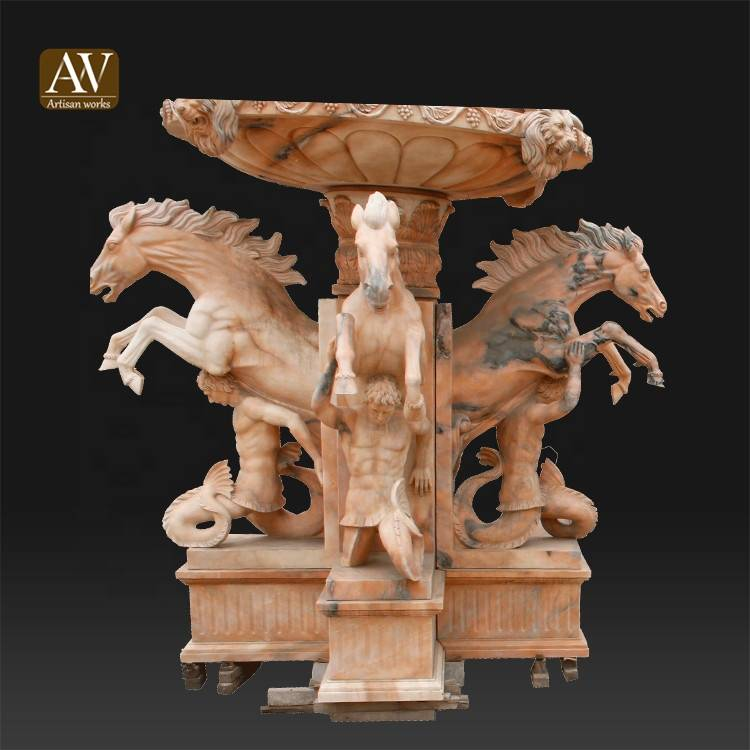 Wholesale stone garden products marble water fountain sale