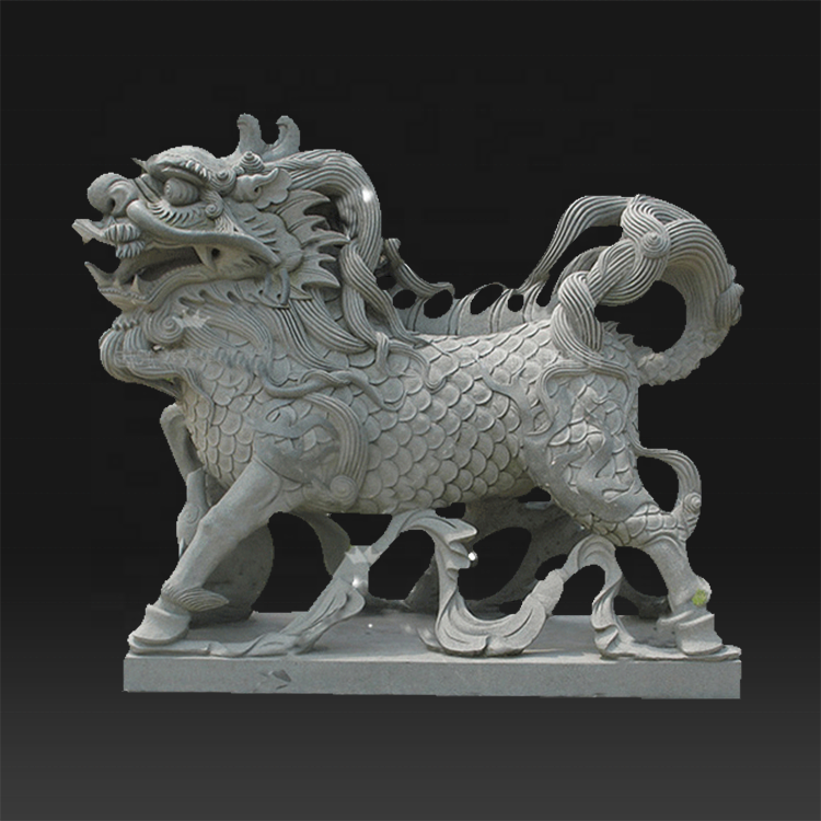 Outdoor large custom size garden sculpture marble lion