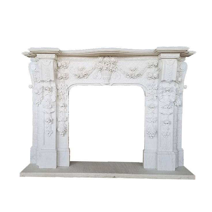 decorative inserts decoration fireplace marble