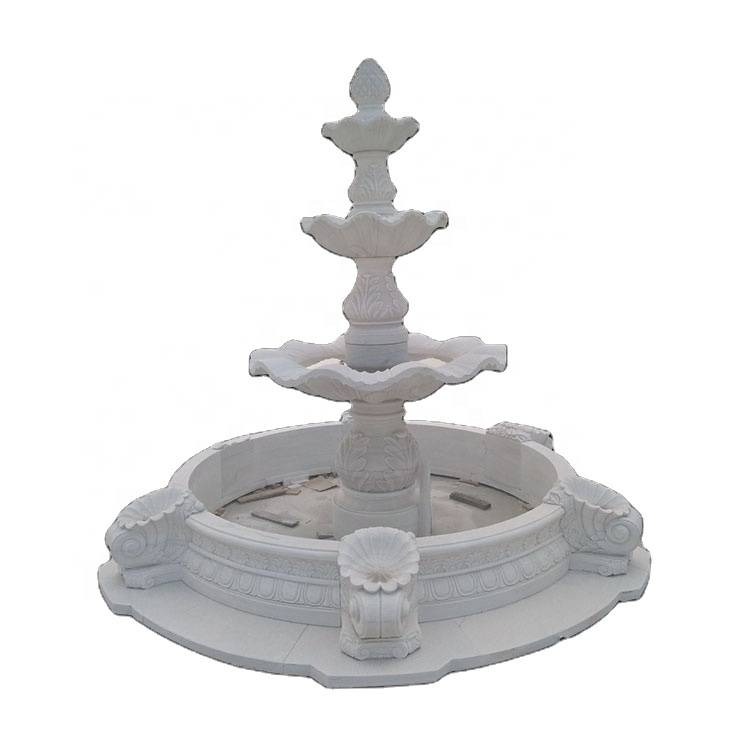 Modern garden water outdoor elephant water fountain