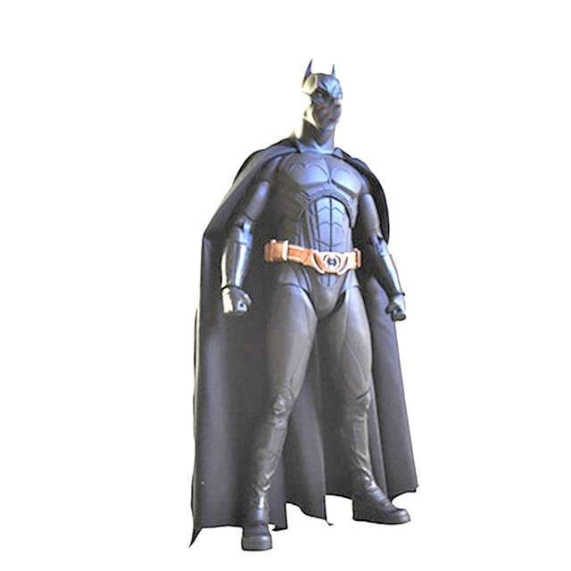 Abstract art design resin life size figure sculpture geometric Batman  statue for indoor decoration