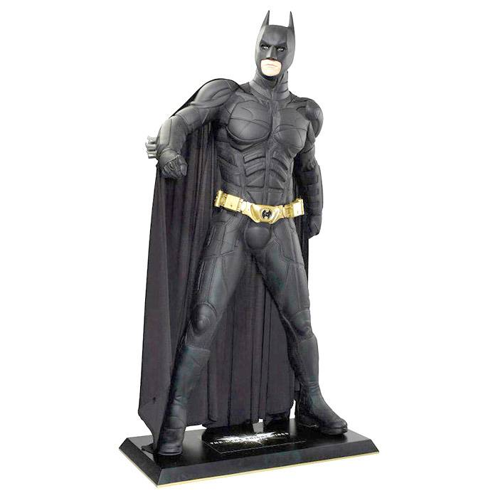 Fiberglass sculpture resin life size batman statue for sale