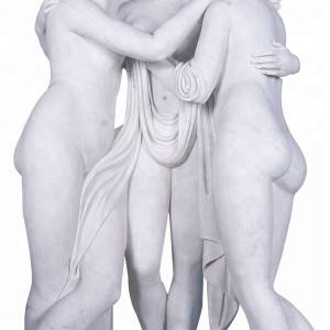 Stone marble life size three nude grace statue for sale