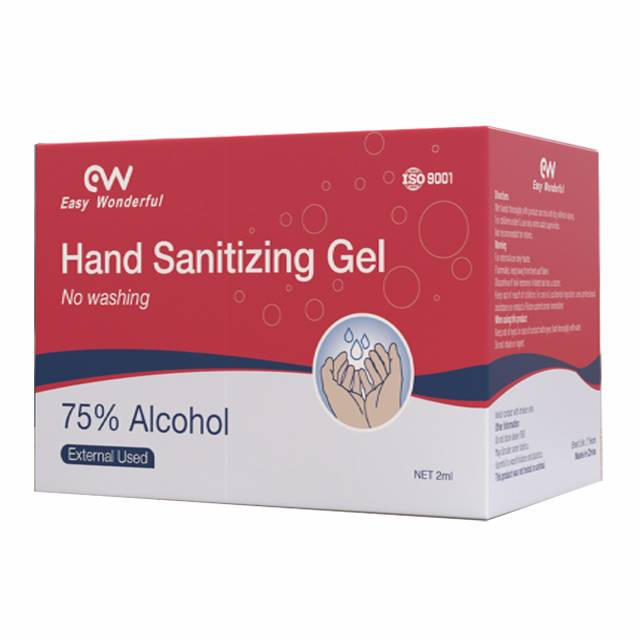 Easy Wonderful Brand High Quality 2ml Hand Sanitizer &Antibacterial Gel Featured Image