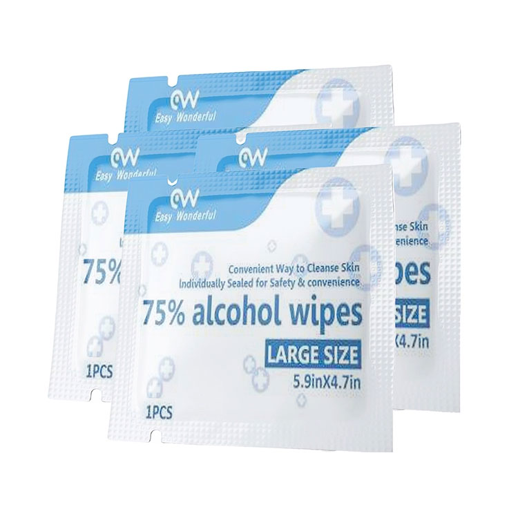 Super Lowest Price China 75% Alcohol Disinfecting Wipes 50PCS Pack with RoHS & FDA for Daily Cleaning Featured Image