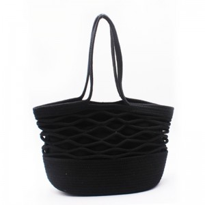 OEM/ODM Factory Hand Made Hand Bags - Eccochic Design Hand-made Rope Tote Bag – Eccochic