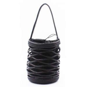 Hot Selling for Summer Bags - Eccochic Design Hand-made Pu Cord Bucket Bag – Eccochic