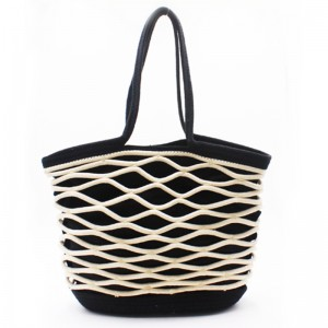Short Lead Time for Bucket Tote Bag - Eccochic Design Large Size Rope Hand-made Shoulder Bag – Eccochic