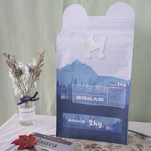 Pet treat plastic bag