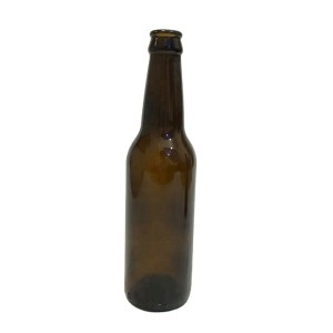 330ml long neck amber beer glass bottle