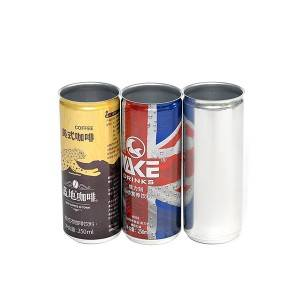 Aluminum can slim 250ml