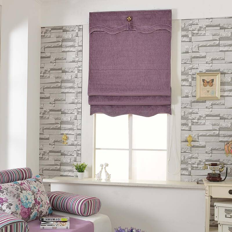 Roman Blinds detail pictures