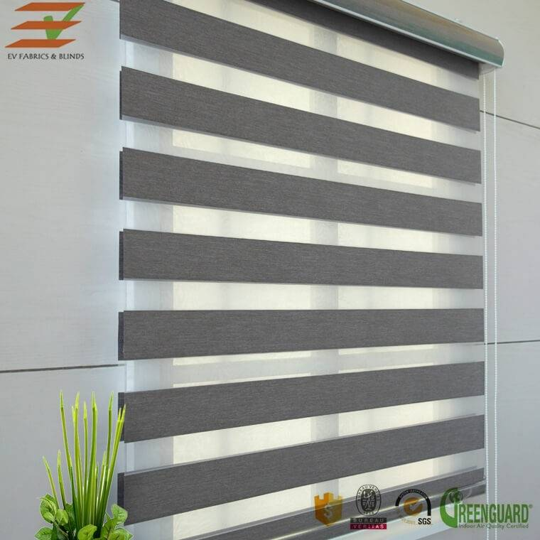 Readymade Zebra Blind detail pictures