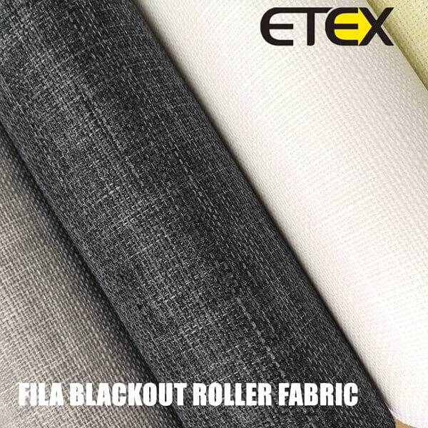 Blackout Roller Blind Fabrics detail pictures
