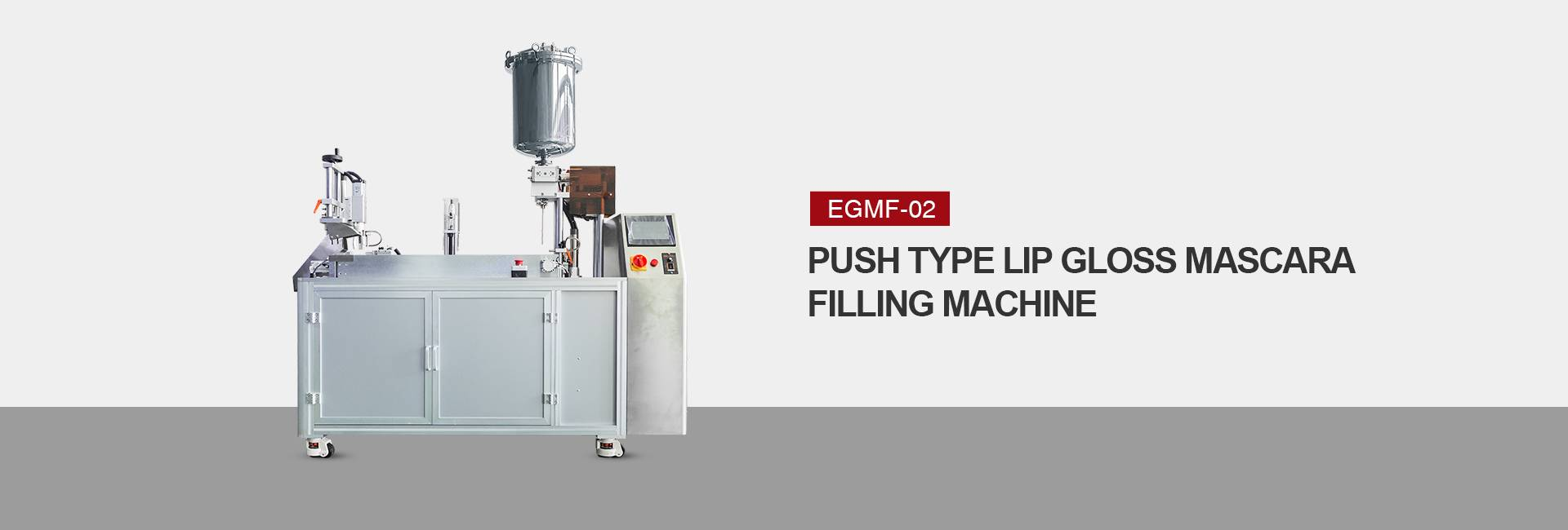 Push Type Mascara Filling Machine
