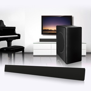 3D Surround Wireless Bluetooths Soundbar Speaker Sound Home Theatre System With Wireless Subwoofer(SP-606 with Subwoofer)