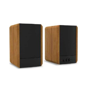 wooden super bass USB bluetooth 2.0ch stereo audio sound Hi-Fi hifi bookshelf speaker(BT-200)
