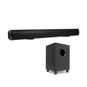 Top selling Sound Bar EYIN 2.1 Channel Bluetooth Soundbar for TV with Subwoofer Home Theater System 34-inch Soundbar 5.5-inch Subwoofer 4 Speakers 120W 95dB Remote Control 2020 Model(SP-607 with su...