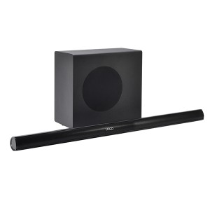 RMS 80W Home Wireless Soundbar With Wireless subwoofer Support DSP Inside/AUX/HDMI/Opitcal/USB/Remote Controller(SP-616 with subwoofer)