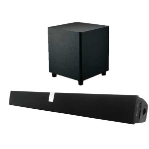 RMS 100W 2.1 Home theater Soundbar Surround Bluetooth Speaker System For LED TV(SP-612 with subwoofer)