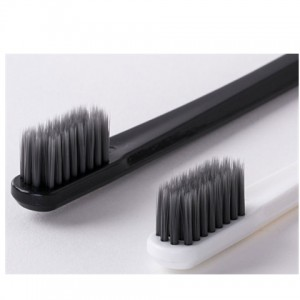 Sharpened bamboo charcoal toothbrush