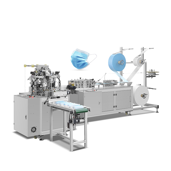 Automatic disposable mask masking machine