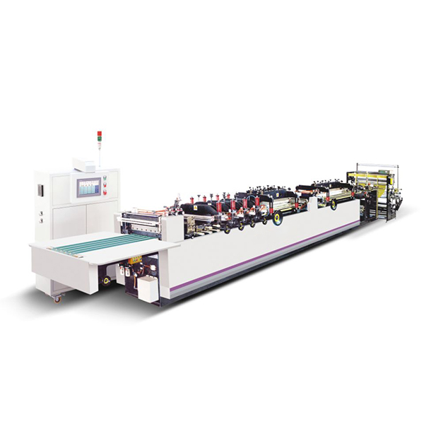 ZUD400-600 Three Side Sealing Zipper Standing Bag Making Machine