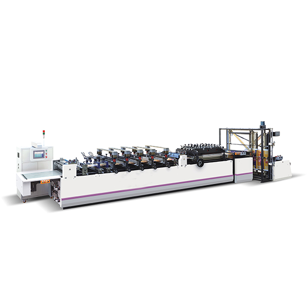 ZUA400-600 Three Side Sealing Bag Making Machine Featured Image