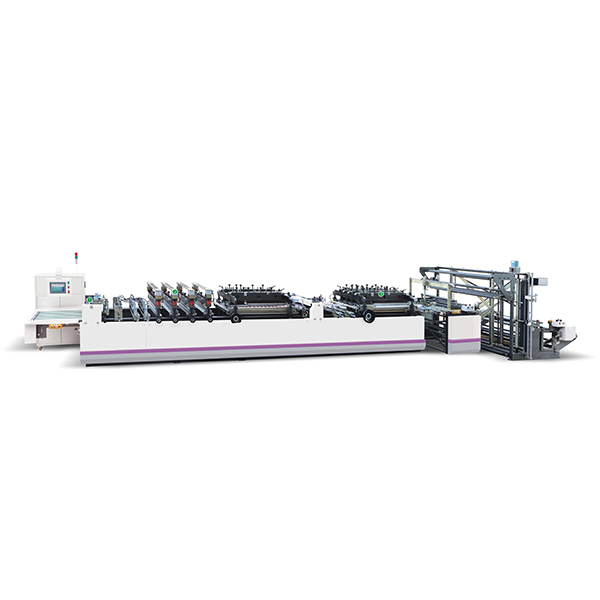 ZUB400-600 Three Side Sealing Center Sealing Bag Making Machine
