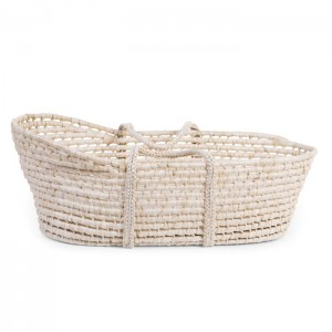 Baby Moses Basket by Soft Corn Husk