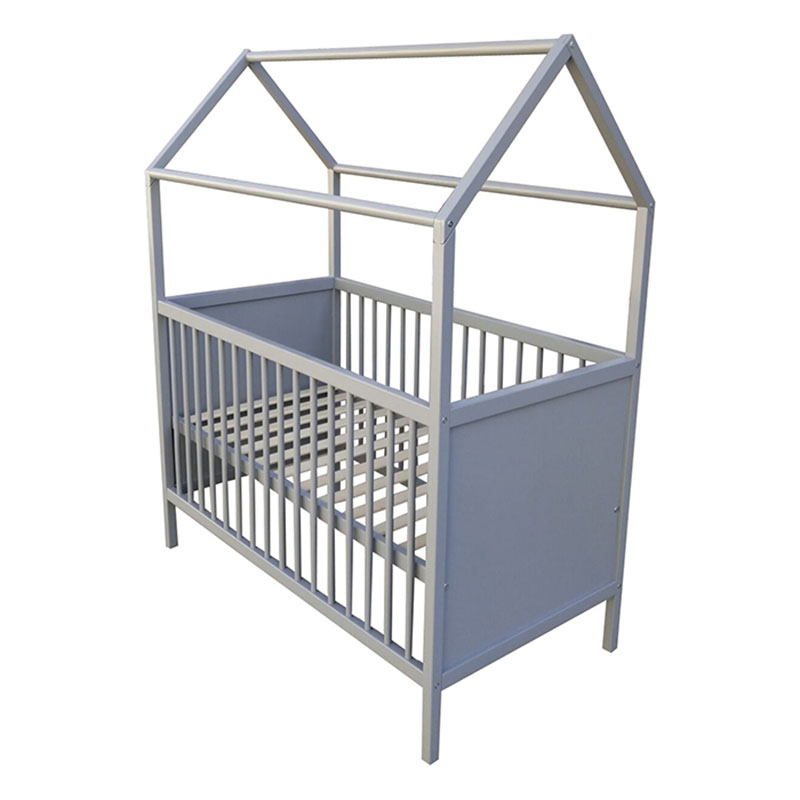 EU Standard Baby House Bed Frame Baby Cot Featured Image