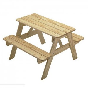 Cheap Price solid wood kids picnic table