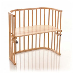 Factory Supply Folding Wooden Baby Crib - Wooden Baby Sleeper Bed Attached to Parents' Bed – Faye