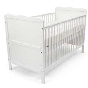 Lowest Price for Adjustable Baby Crib - 2in1 Wooden Baby Bed Nursery Furniture Baby Crib – Faye