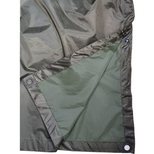 Heavy duty polyester coated PVC rain poncho for sale USD4.5-5