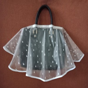 Customize Clear TPU Rain Cover for Handbag