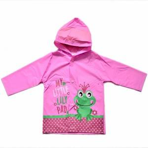 Excellent quality China High Quality Kids Printed PVC Raincoat