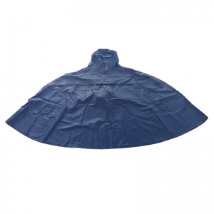 Curved Polyester Rain poncho with hood   USD5.3-USD9.9