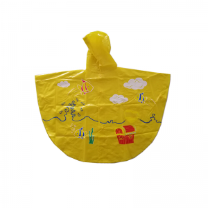 Outdoor cute rain poncho for kids  USD1.1-USD1.8