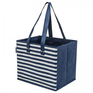 Planet E Reusable Foldable Grocery Bags with Reinforced Bottoms