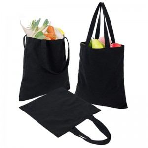 custom Women Men Handbags Canvas Tote bags Reusable Foldable grocery tote canvas cotton Shopping Bag eco-friendly