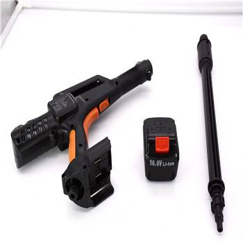 cordless  high  pressure  water  gun voltage 16.8v ,car cleaning,  rechargeable car washer machine