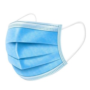 Disposable medical masks in 3 layers and 10/bag