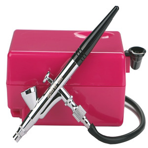 Portable Airbrush Makeup and Tanning Kits Nail Air Brush Set