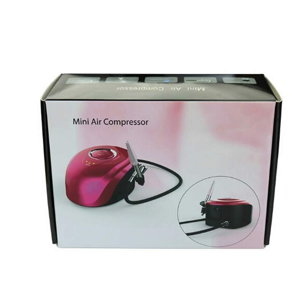 Multi-Purpose Mini Air Compressor Set Cosmetic Makeup Airbrush and Compressor System for Girl Women Facial Care  Nail