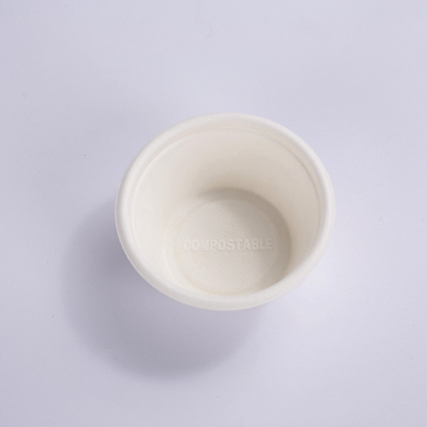 ZZ Eco Products Biodegradable 2 OZ Sugarcane Bagasse Souffle Cup/Portion Cup-2000/Case Featured Image